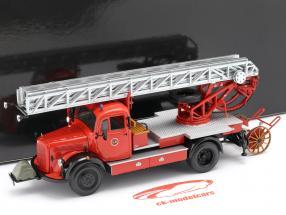 Mercedes-Benz L3500 DL17 brandweer Bensheim 1950 1:43 Minichamps