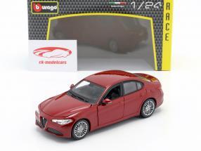 Alfa Romeo Giulia rouge 1:24 Bburago