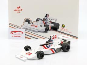 James Hunt Hesketh 308 #24 vinder Hollandsk GP formel 1 1975 1:18 Spark