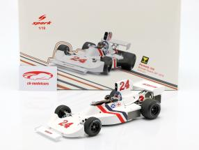 James Hunt Hesketh 308 #24 Winnaar Nederlands GP Formule 1 1975 1:18 Spark