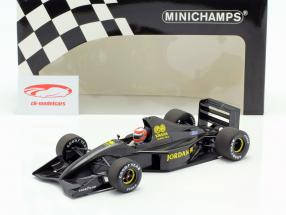 John Watson Jordan 911 formel 1 prøve Silverstone november 1990 1:18 Minichamps