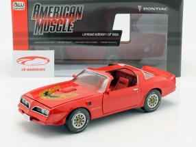 Pontiac Firebird Trans Am Baujahr 1977 rot 1:18 Autoworld