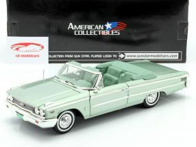 Ford Galaxie 500 XL Open Convertible 1963 moss green 1:18 SunStar