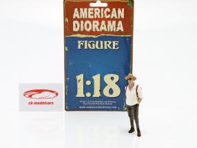 Partygoer La figure #3 1:18 American Diorama