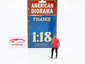 Asistente de fiesta Figura #6 1:18 American Diorama
