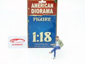 Sentado Amantes Figura #1 1:18 American Diorama