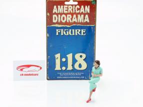 sidder Lovers figur #2 1:18 American Diorama