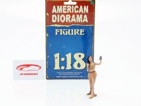Partygoer Figura #5 1:18 American Diorama