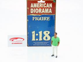 Asistente de fiesta Figura #9 1:18 American Diorama