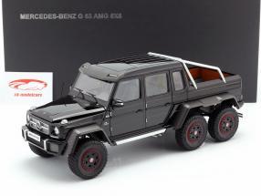 Mercedes-Benz G63 AMG 6x6 Baujahr 2013 schwarz glänzend 1:18 AUTOart