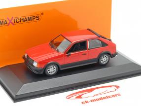 Opel Kadett D SR Année de construction 1982 rouge 1:43 Minichamps