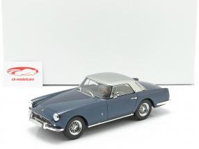 Ferrari 250 GT Coupe Pininfarina Ano de construção 1958 azul metálico / prateado 1:18 Matrix