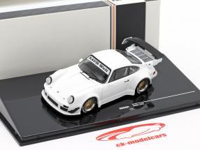 Porsche 911 (930) RWB Rauh-Welt branco 1:43 Ixo