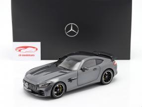 Mercedes-Benz AMG GT R Coupé (C190) selenite grey 1:18 Norev