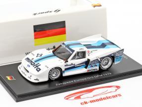 Zakspeed Lotus Europa Turbo #22 1000km Nürburgring 1979 Harald Ertl 1:43 Spark