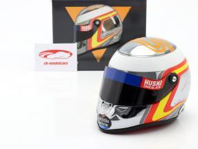 Carlos Sainz jr. McLaren MCL34 #55 formula 1 2019 casco cromo 1:2 Schuberth