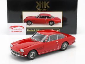 Ferrari 330 GT 2+2 Ano de construção 1964 vermelho 1:18 Escala KK