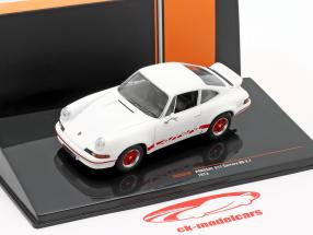Porsche 911 Carrera RS 2.7 year 1973 white / red 1:43 Ixo
