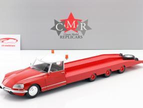 Citroen DS Tissier Voiture transporteur Année de construction 1970 rouge 1:18 CMR