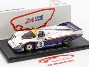 Porsche 956 #3 Holbert / Haywood / Schuppan vincitore LeMans 1983 1:43 Spark / 2. elezione