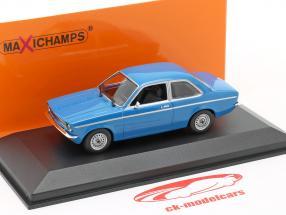 Opel Kadett C année 1974 bleu 1:43 Minichamps