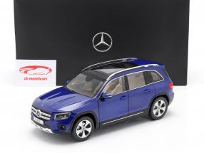 Mercedes-Benz GLB (X247) Année de construction 2019 galaxy bleu 1:18 Z-Models