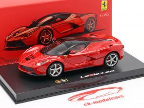 Ferrari LaFerrari rosso / nero 1:43 Bburago Signature