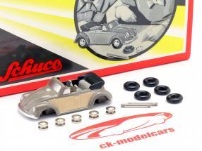 Volkswagen VW Kever Converteerbaar Bouw Kit voor de klein Cabrio-installateur 1:90 Schuco Piccolo