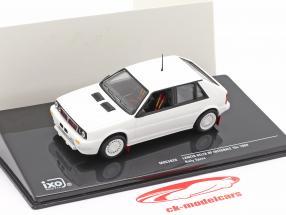 Lancia Delta HF Integrale 16V 1989 Rallye Specs Plain Body Version weiß 1:43 Ixo