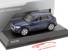 Audi Q5 navarra blauw 1:43 iScale