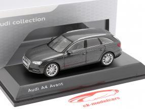 Audi A4 Avant Daytona cinza 1:43 Spark