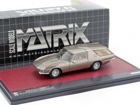 Ferrari 330GT Shooting Brake Vignale year 1968 beige metallic 1:43 Matrix