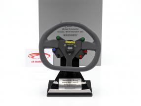 Michael Schumacher Benetton B194 F1 Campeon 1994 Dirección Rueda 1:2 Minichamps