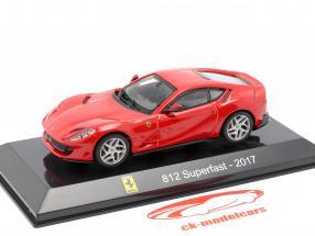 Ferrari 812 Superfast Anno di costruzione 2017 rosso 1:43 Altaya