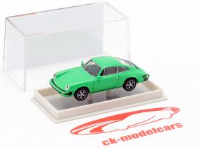 Porsche 911 Cupê Série G 1974 verde 1:87 Brekina