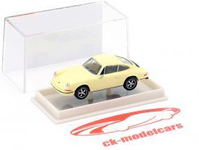 Porsche 911 light yellow 1:87 Brekina