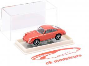 Porsche 911 F metallisk lyserød 1:87 Brekina