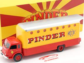 Renault R4220 Pinder circo #12 RTF giallo / rosso 1:43 Direkt Collections