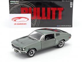 Ford Mustang GT year 1968 Movie Bullitt (1968) green metallic 1:24 Greenlight
