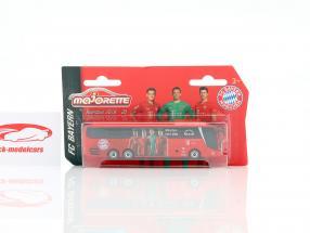 MAN Lion's Coach L Supreme Ônibus da equipe FC Baviera Munique 2019/20 vermelho 1:64 Majorette