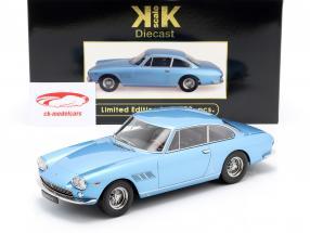 Ferrari 330 GT 2+2 Bouwjaar 1964 licht blauw metallic 1:18 KK-Scale