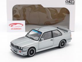 BMW M3 (E30) year 1990 silver metallic 1:18 Solido