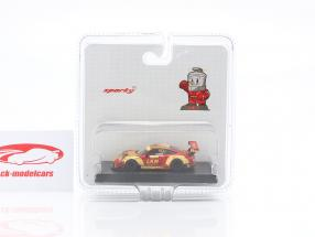 Porsche 911 GT3 R #912 4th FIA GT World Cup Macau 2018 Earl Bamber 1:64 Spark