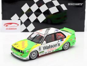BMW M3 (E30) #6 Ganador Macau Guia Race 1991 Emanuelle Pirro 1:18 Minichamps
