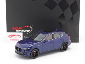 Maserati Levante Trofeo Anno di costruzione 2019 blu 1:18 TrueScale