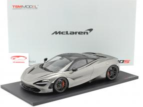McLaren 720S Ano de construção 2017 lâmina prateado 1:12 TrueScale