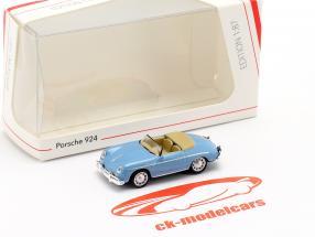 Porsche 356A Speedster luce blu 1:87 Schuco