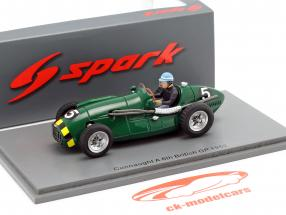 Eric Thompson Connaught A #5 5º Britânicos GP Formula 1 1952 1:43 Spark