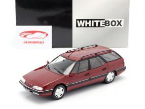 Citroen XM Break oscuro rojo metálico 1:24 WhiteBox