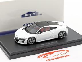 Honda NSX Concept Car 2013 perla bianca 1:43 Ebbro